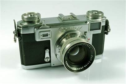 63: Contax IIa Nr. V15121 with 50mm Nikkor f2 Nr. 30083