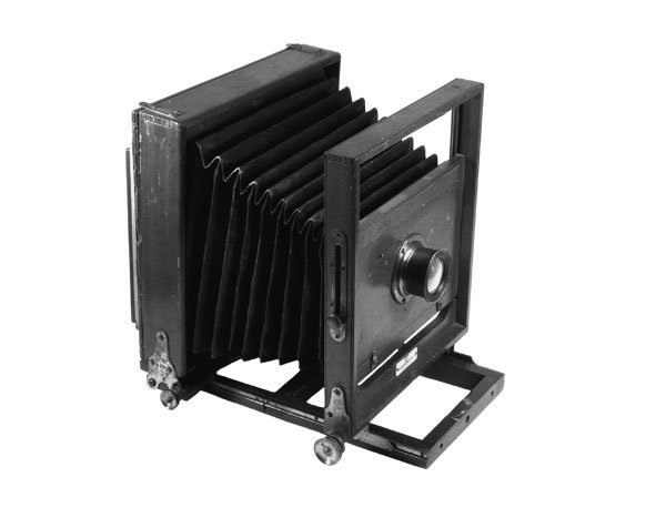 9: Ideal Wooden View Camera 4.75 x 7.75 Inches