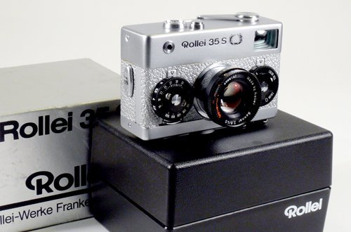 5: Rollei 35S Silver Anniversary with 40mm Sonnar f2,8