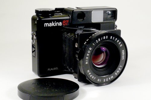 12: Plaubel Makina 67 with 80mm Nikkor f2,8 Nr. 517955