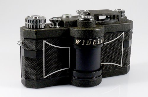 17: Widelux F7 Nr. 352061with case and box. - 2