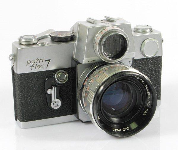 13: Petriflex 7 Nr. 571956 with 55mm Petri f1,8 Nr. 107
