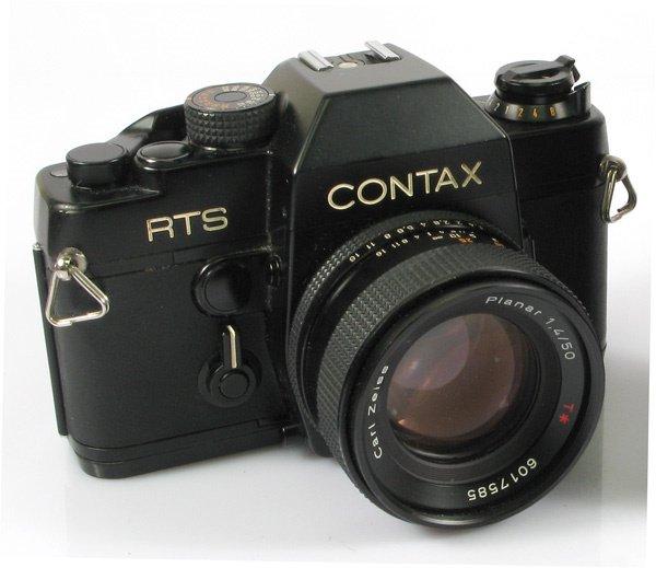 15: Contax RTS Nr. 39363 with 50mm Planar f1,4 Nr. 6017