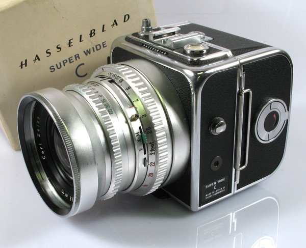 17: Hasselblad Super Wide C Nr. TVW4105 with 38mm Biogo