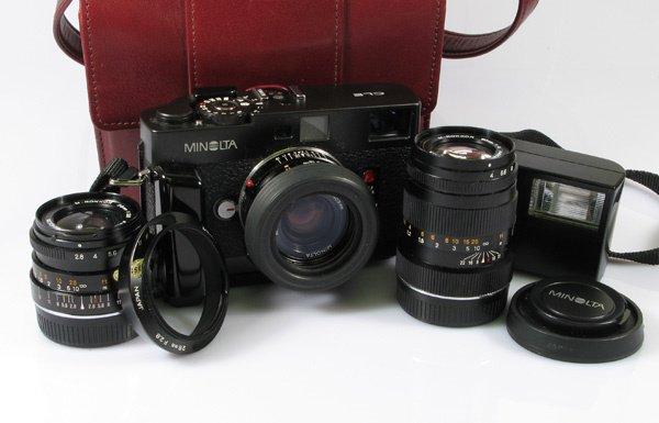 19: Minolta CLE Nr. 1022698 with 40mm Minolta f2 Nr. 21