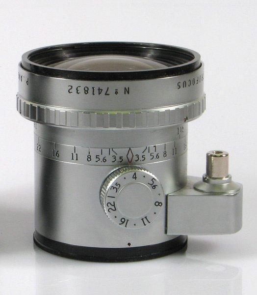 20: 24mm Angenieux Retrofocus f3,5 Nr. 741832 Chrome wi