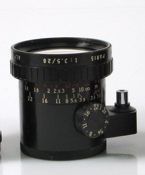 22: 28mm Angenieux f3,5 Nr. 1158371 Black.