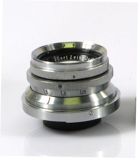 44: 40mm Biotar f2 Nr. 1641750. Some dust specks inside