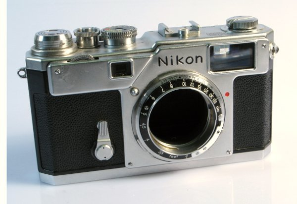 293: Nikon S3 Nr. 6304357.   (All items are offered for