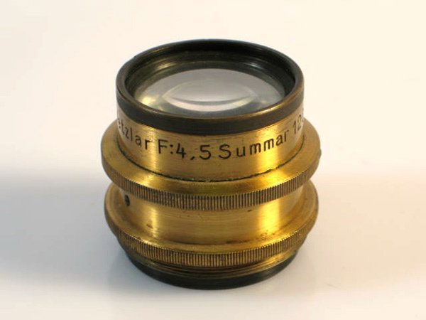 298: 120mm Summar f4,5 Brass