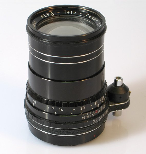 305: 135mm Tele-Xenar f3,5 Nr. 11698269 in Alpa mount.