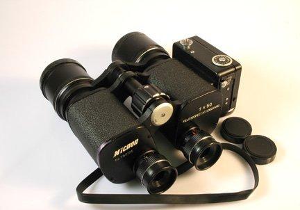 1: 7x50 Nicnon binocular Camera Nr. 750135 with case.