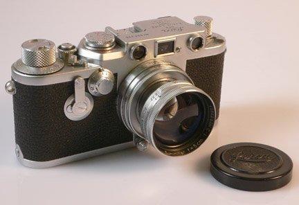 239: Leica IIIf Nr. 696225 Red Dial Self Timer
