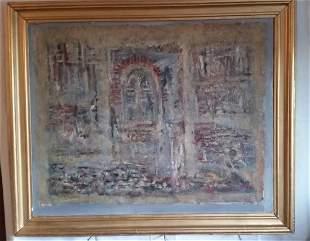 ArmenianRomanian Painter Ervant Nicogosian 1928