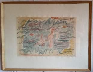 Ecole de Paris RomanianFrench Painter Aurel Cojan