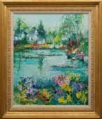 Yolande Adrissone Oil on Canvas (French 1927-)