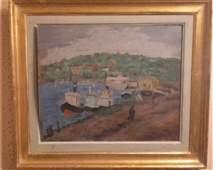 Nuni Dona Delavrancea Oil on Canvas