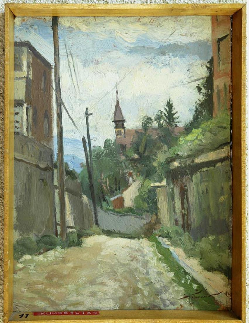 Stavru Tarasov (1883-1961) Listed Artist Oil on Board