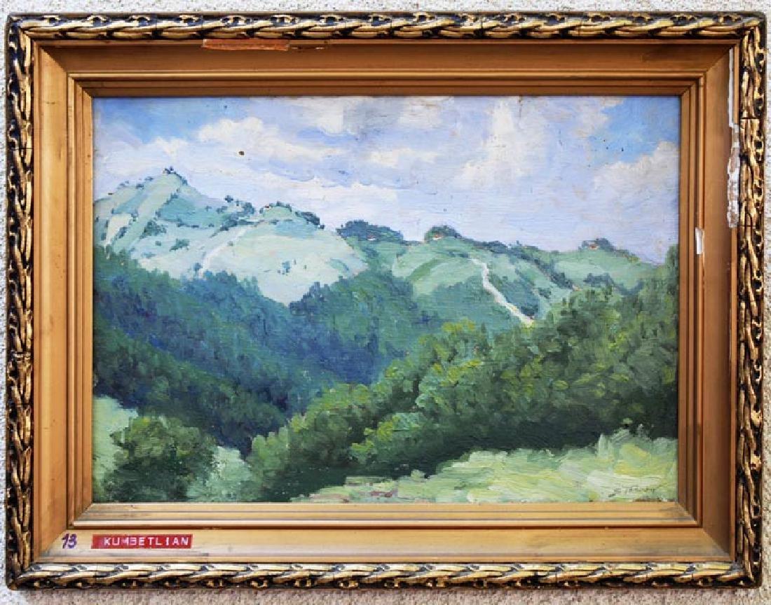 Stavru Tarasov (1883-1961) Listed Artist Oil on Canvas