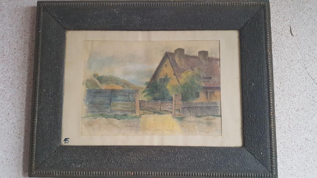 Stavru Tarasov (1883-1961) Listed Artist drawing on