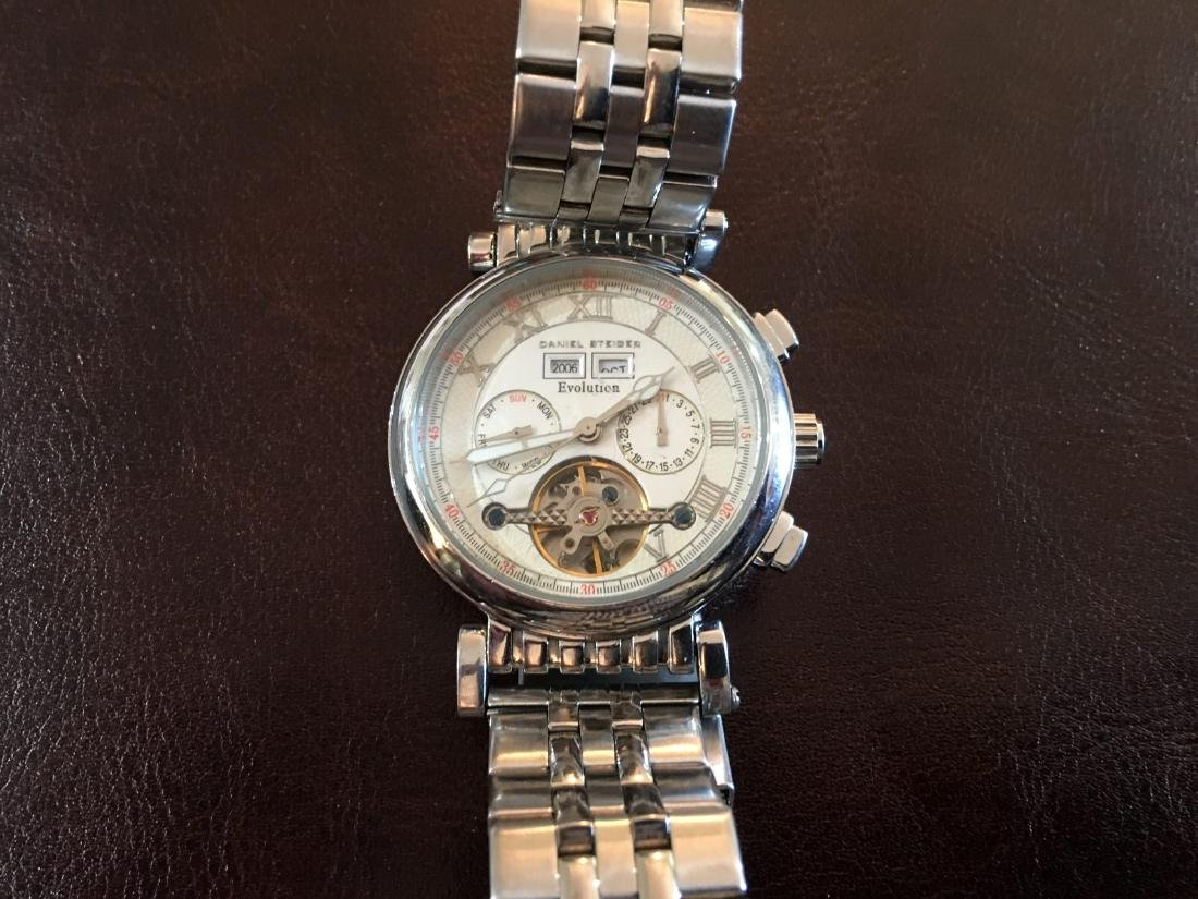 Vintage Daniel Steiger Evolution Man Chronograph 35