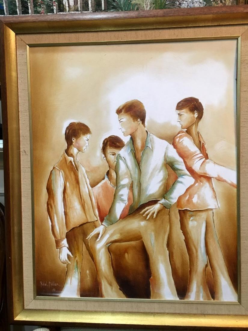 Australian Artist Noel Miller, Oil Painting on Board
