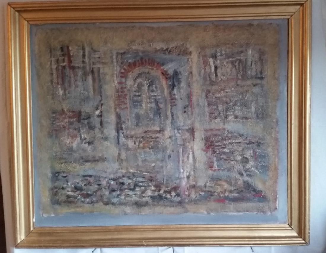 Armenian-Romanian Painter Ervant Nicogosian (1928,