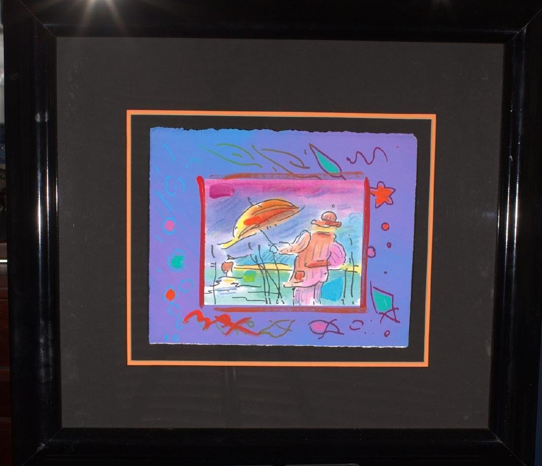 Peter Max Acrylic Painting