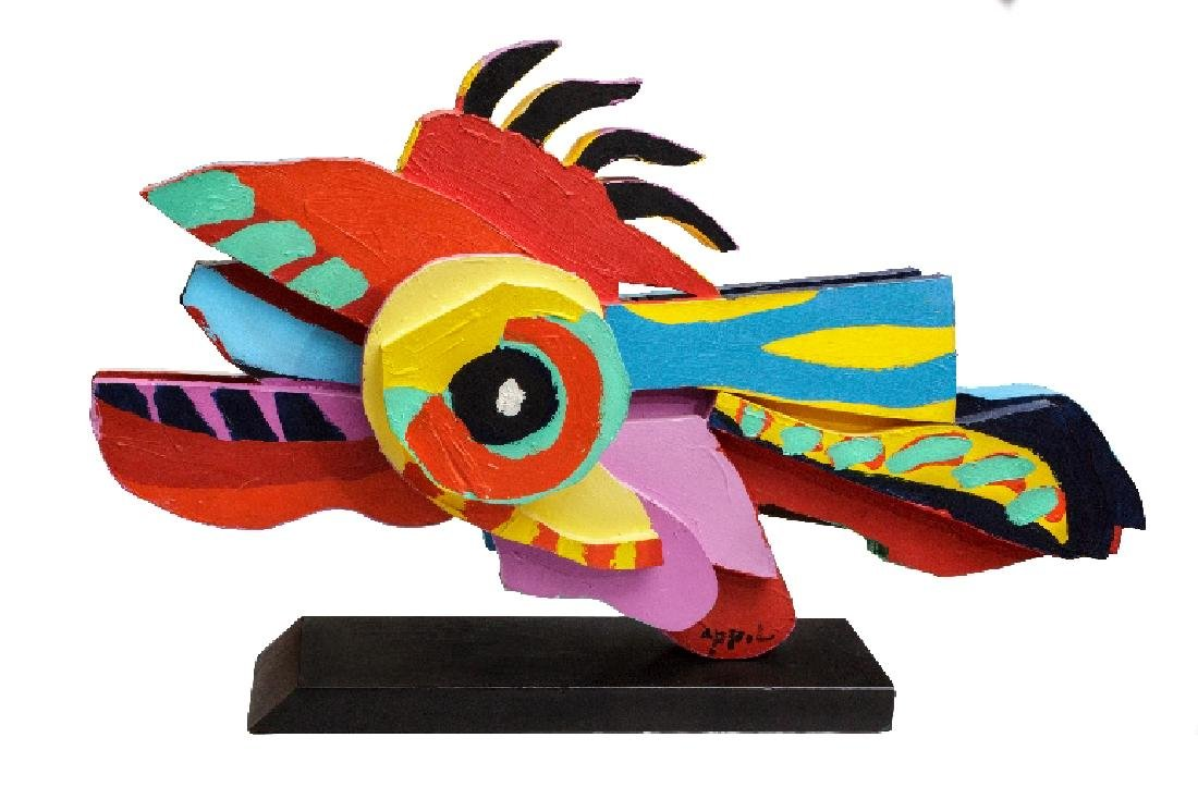 Signed Scarce Christiaan Karel Appel Flying Fish (Dutch