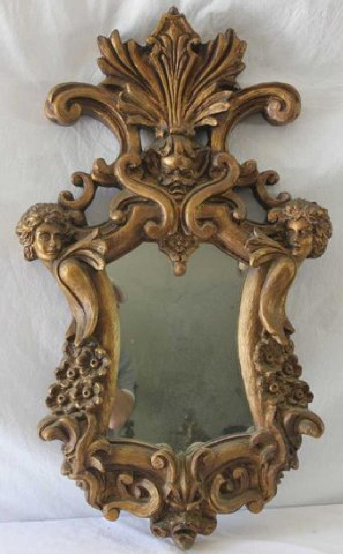 Italian Baroque Style Gilded Mirror