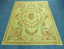 Vintage Needlepoint Carpet