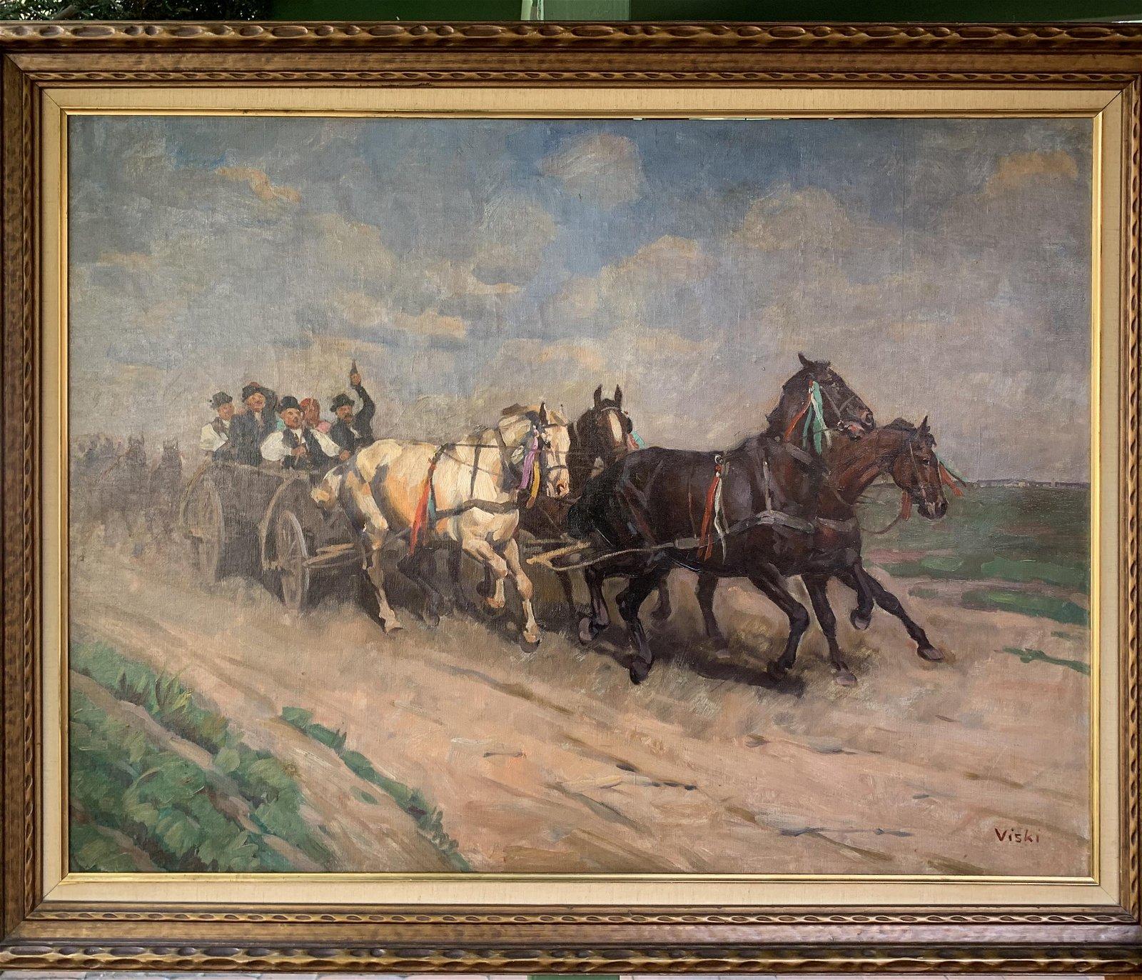 János Viski (1891-1985) Hungarian Artist