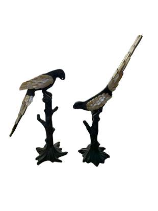 Maitland - Smith Pair of Birds
