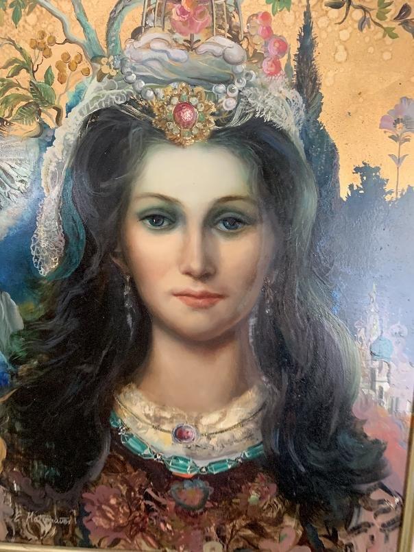 E. Matzenauer Oil on Canvas