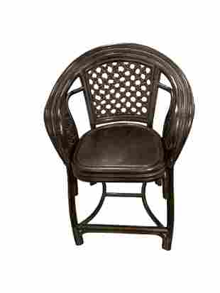 Antique High chair Made of Cane