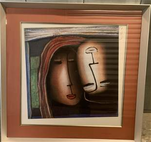 Abstract Painting Signed