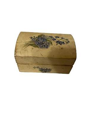 Vintage Hand Painted Box Made in Italy