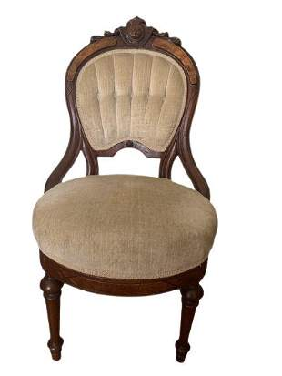 Lot of 2 Victorian Chairs and one Eastlake Style Chair.