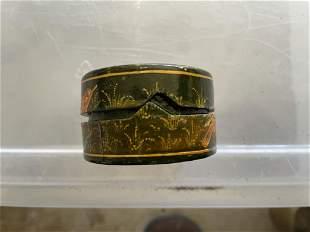 Beautiful Kashmir hand painted box