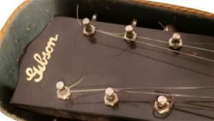 Vintage Gibson Lap Steel Guitar with Original .Case