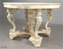 Exquisite Parlor Coffee Table  One of a Kind All hand