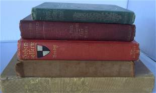 Lot of 5 Antique Books 1st Edition/1st/Printing. H.