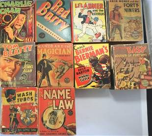 Lot of 10 Little Books Series Published in 1930's By
