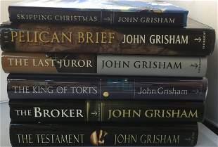 Lot of 6 John Grisham all 1st/1st, ALL Signed