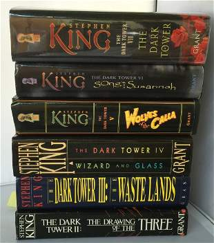 Lot of 7 Books by Stephen King All 1st Edition 1st