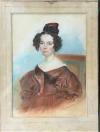 19th Century French Listed Artist JOSEPH-HIPPOLYTE