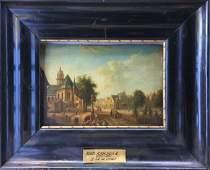 19th Listed Belgian Artist Eugene Verboeckhoven