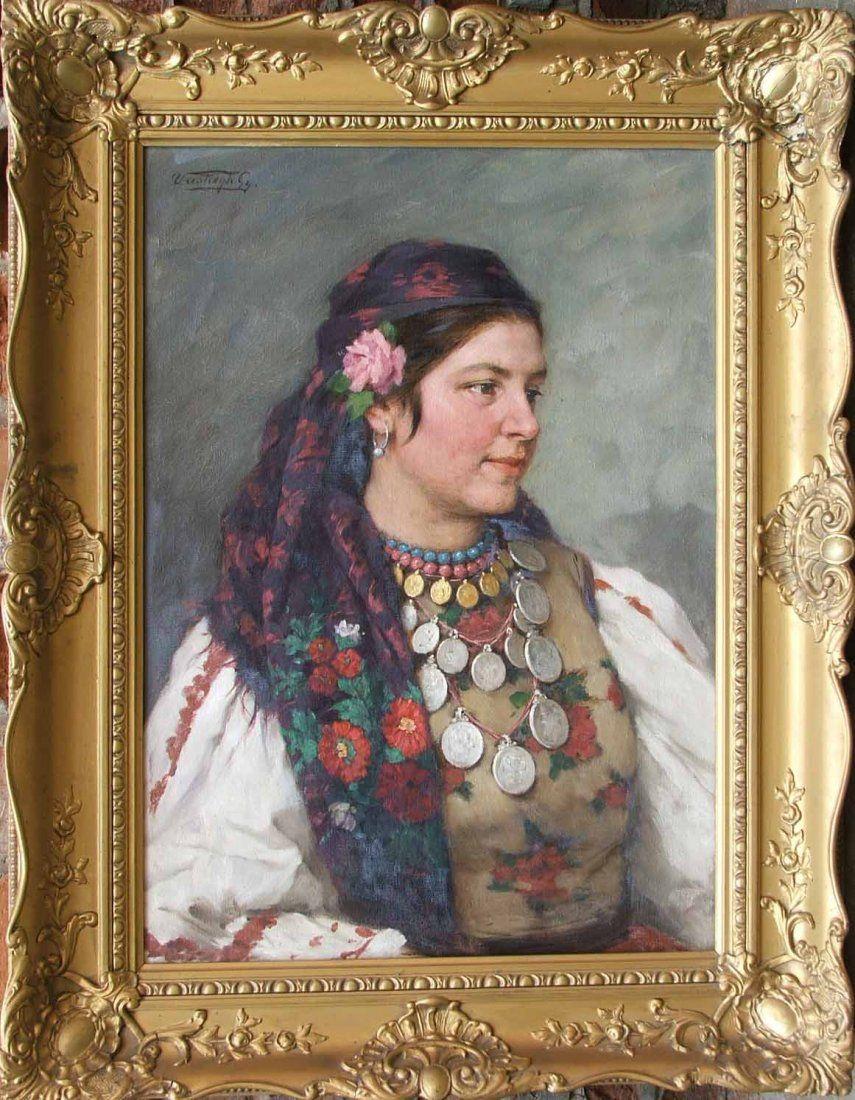 19th Century Listed Artist György Vastagh (1834 - 1922)