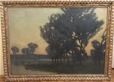 19th Century Hungarian Artist BOSZNAY, Istvan( 1868-194