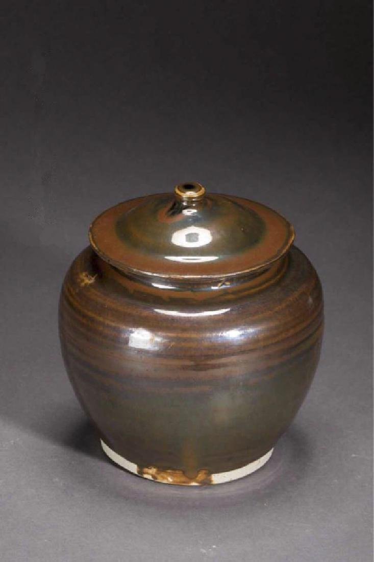 A DING JAR WITH LID YUAN DYNASTY(1271-1368)